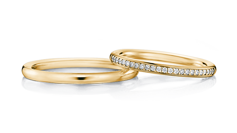結婚指輪 アストラP×24D