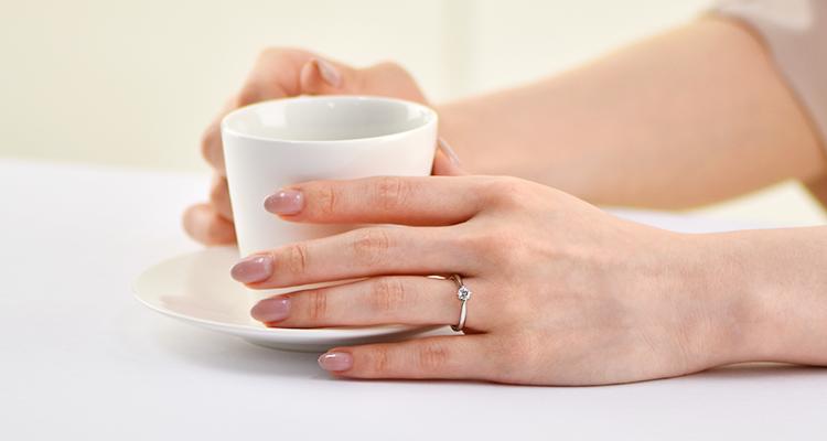 婚約指輪 アンティアーレ5