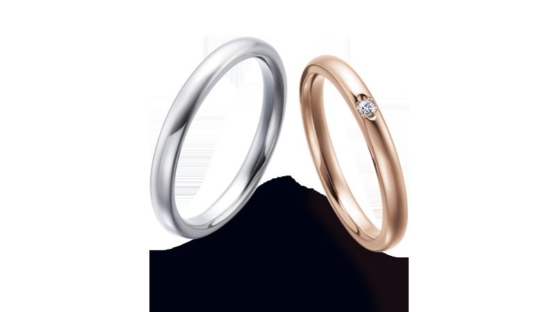 結婚指輪 オリジンビリーフ25R×25DR12