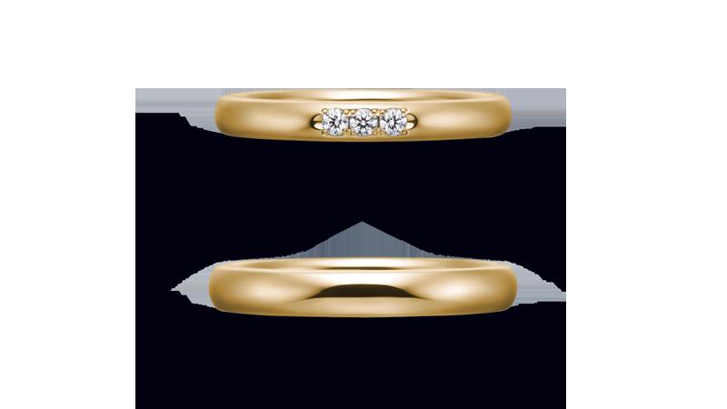 結婚指輪 オリジンビリーフ30R×25DR3