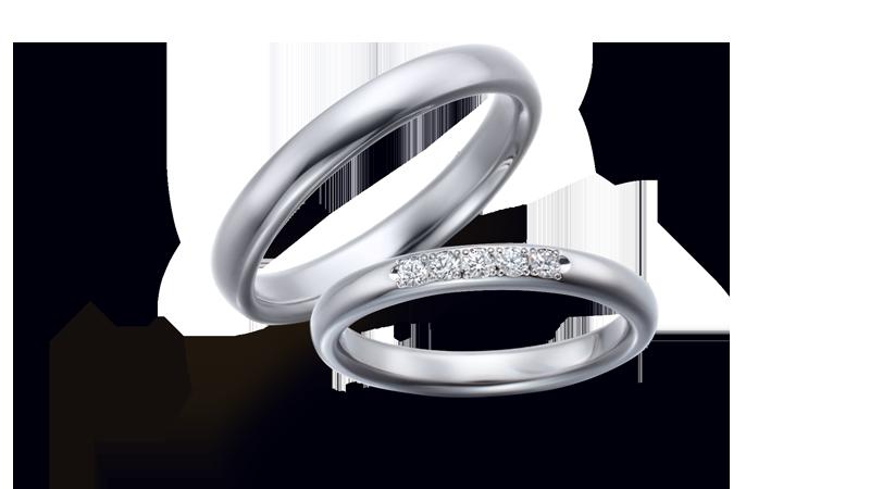 結婚指輪 オリジンビリーフ35R×25DR52