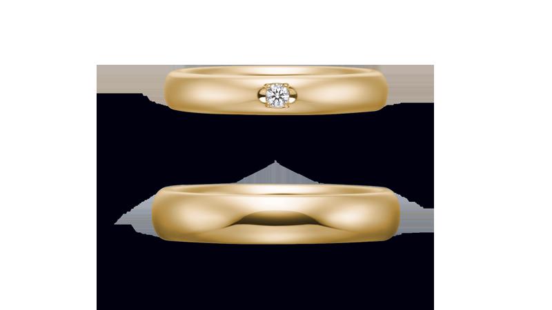 結婚指輪 オリジンビリーフ45R×35DR1