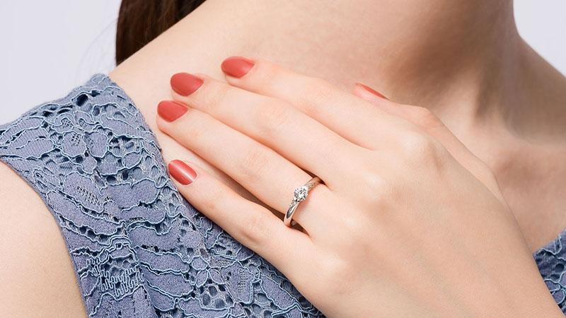 婚約指輪 アクルクス3
