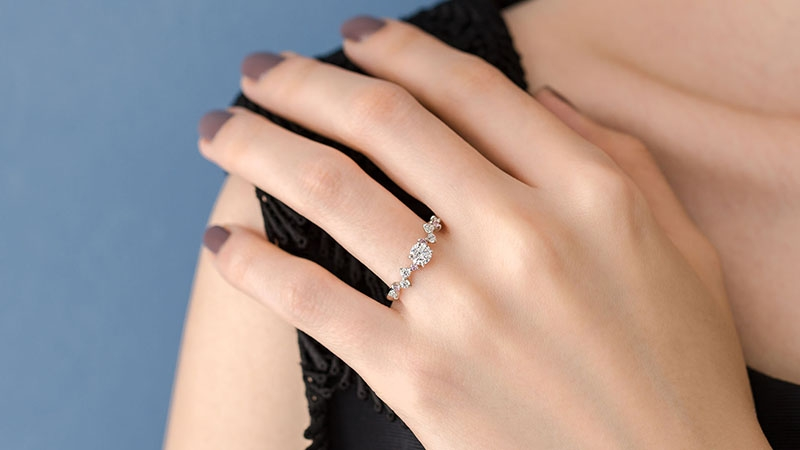婚約指輪 アリエス3