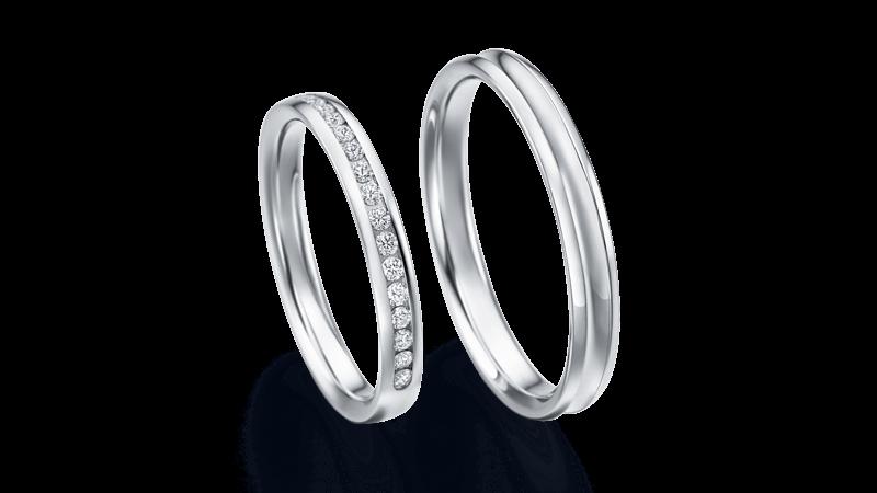 結婚指輪 カリス2