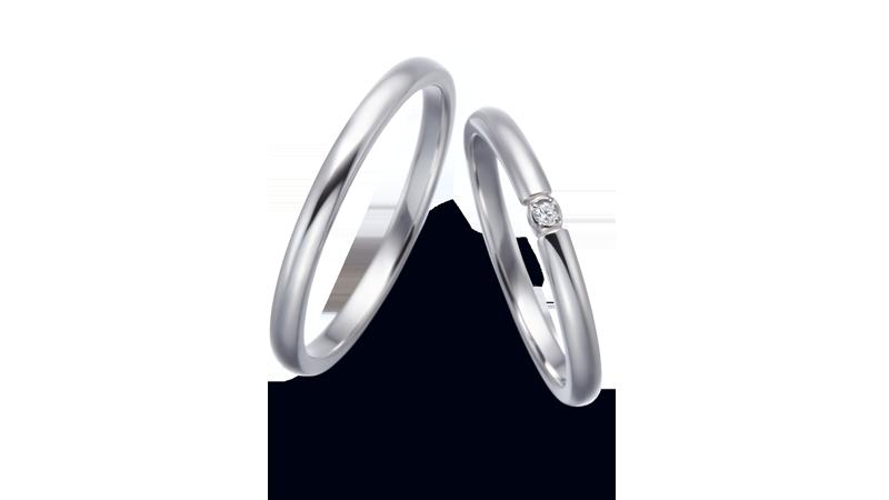 結婚指輪 ネレイス2