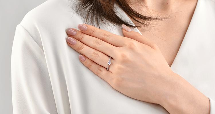 婚約指輪 アンドロメダ4