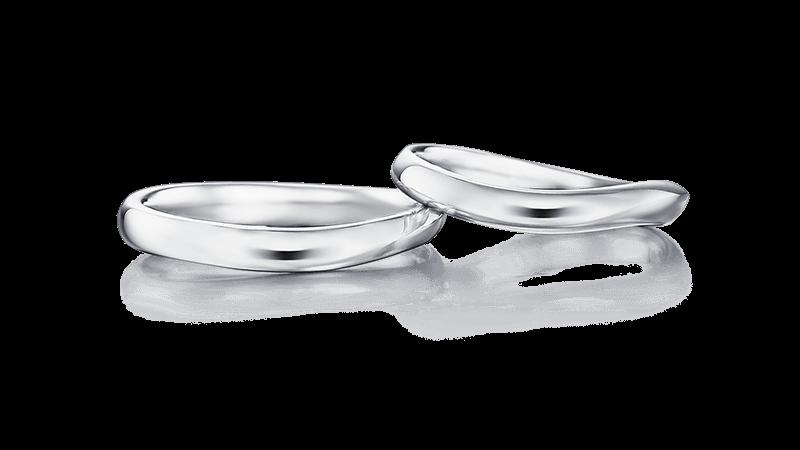 結婚指輪 ヘルメス プレーン