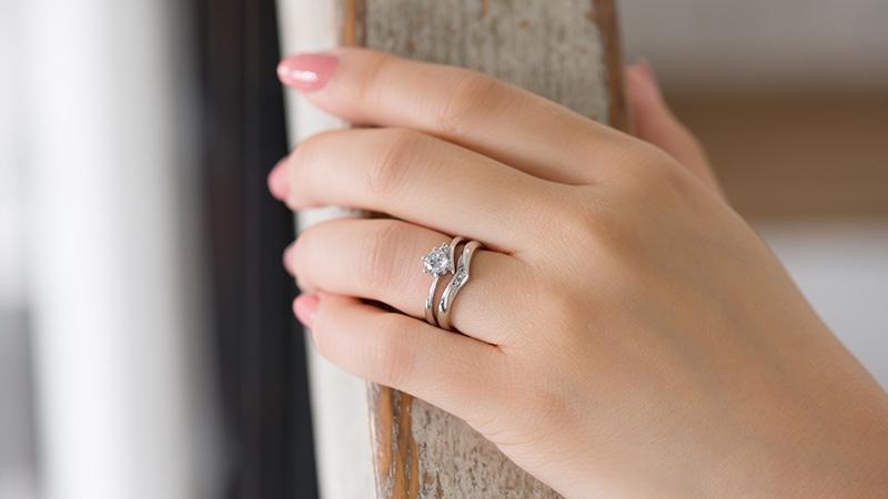 結婚指輪 レイア2