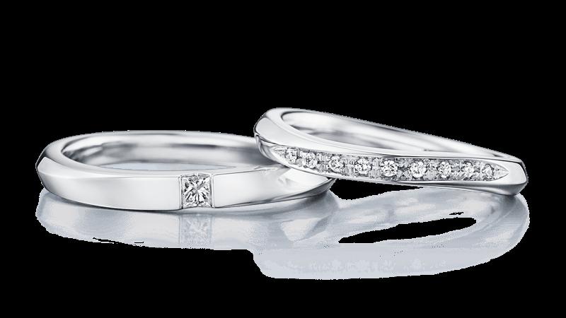 結婚指輪 エアロス