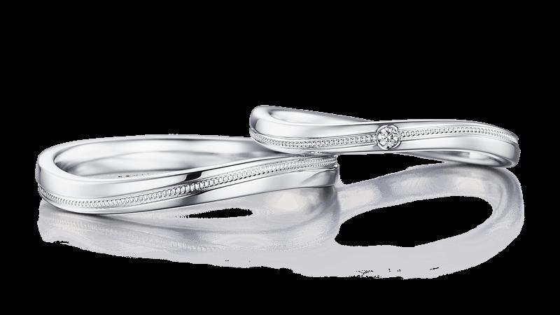 結婚指輪 アンフィトリテ