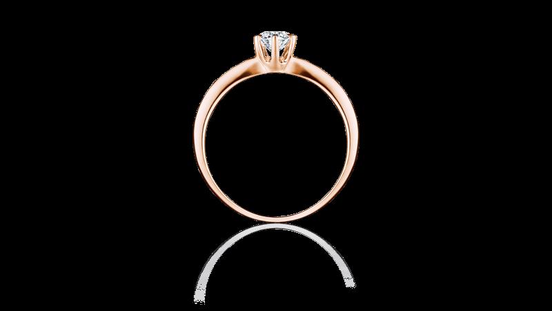 婚約指輪 シャドル2