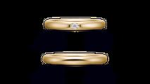 結婚指輪 オリジンビリーフ25R×25DR1