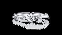 婚約指輪 アンドロメダ
